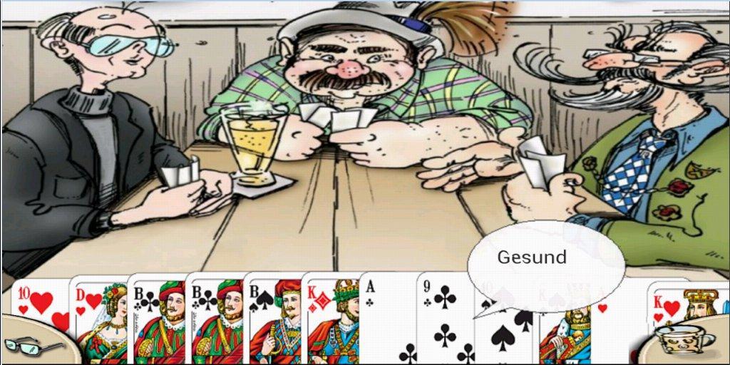 Doppelkopf Kartenspiel
