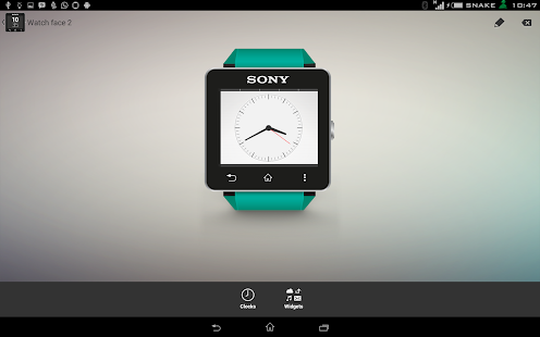 Xperia Alarm watchface for SW2- screenshot thumbnail