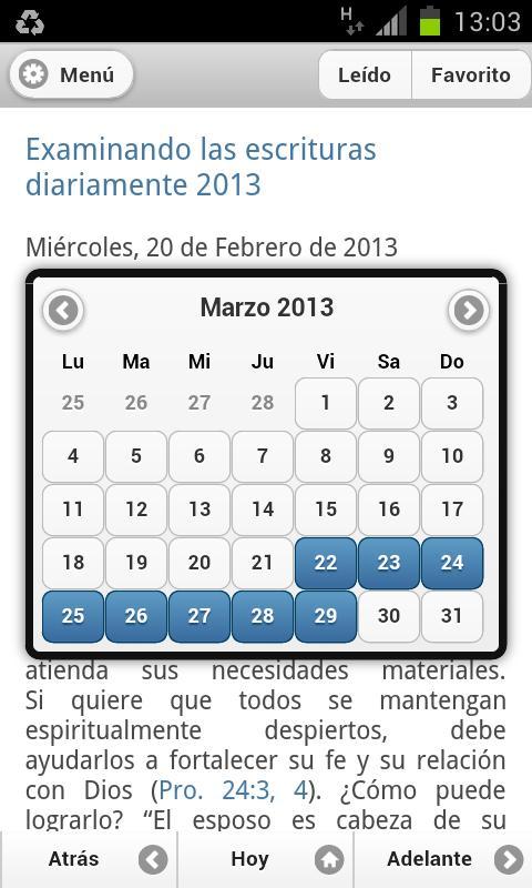 Texto Diario 2013 - screenshot