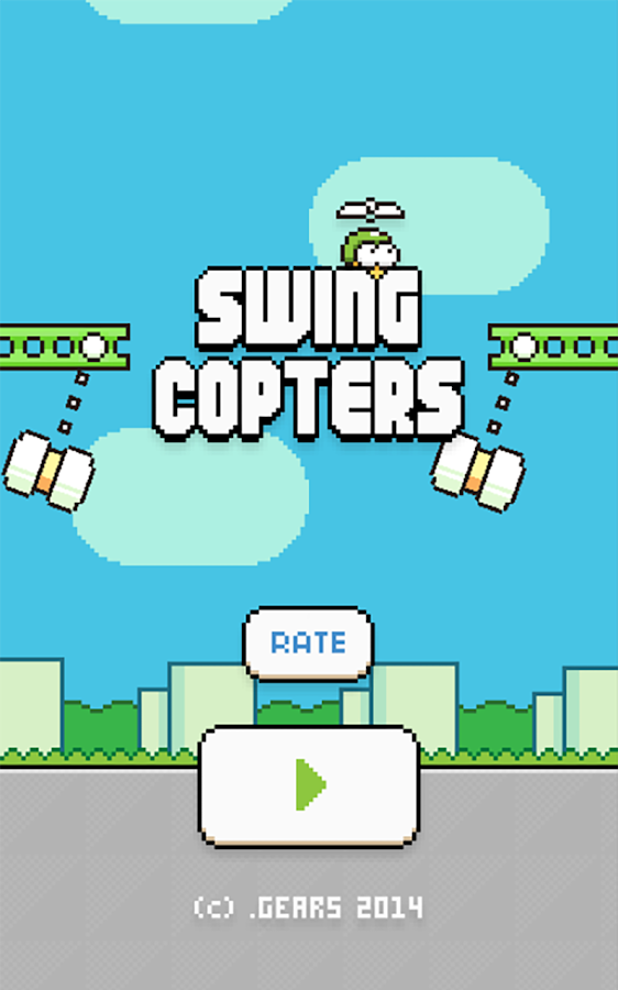 Swing Copters - screenshot