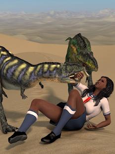 Schoolgirls and Dinosaurs