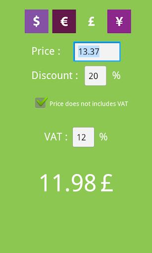 免費工具App|Real Price Calculator|阿達玩APP
