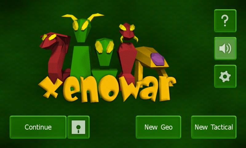 Xenowar- screenshot