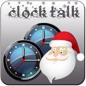 Clock Talk Merry Christmas