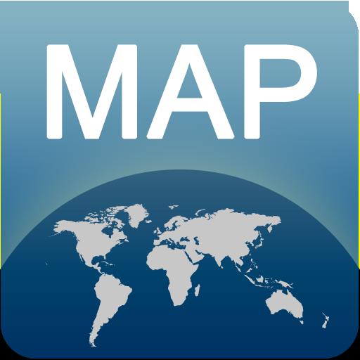 库尔斯克离线地图 旅遊 LOGO-玩APPs