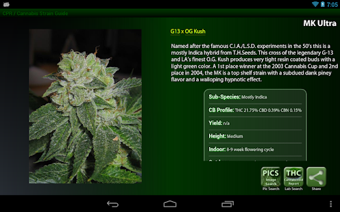 Cannabis Pocket Reference - screenshot thumbnail