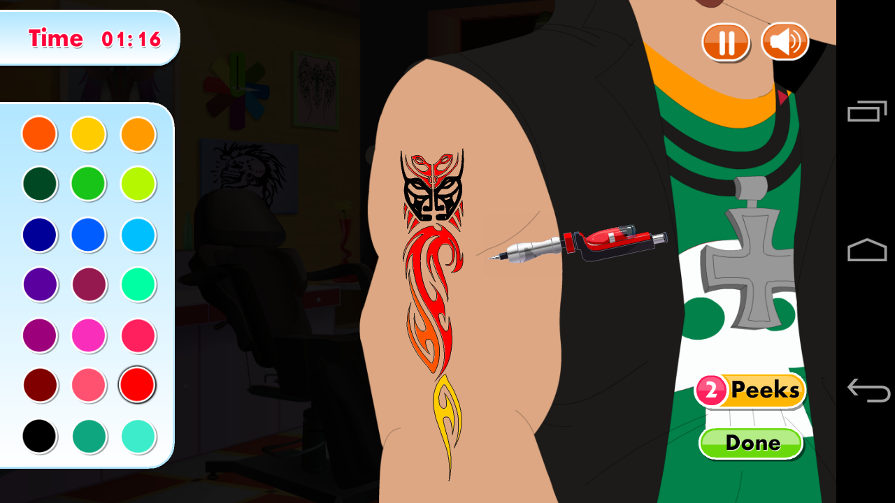 Fab Tattoo Artist Secret Salon - screenshot