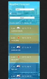 Weather Forecast World - screenshot thumbnail