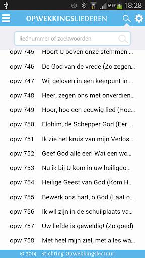 【免費音樂App】Opwekkingsliederen tekstboekje-APP點子