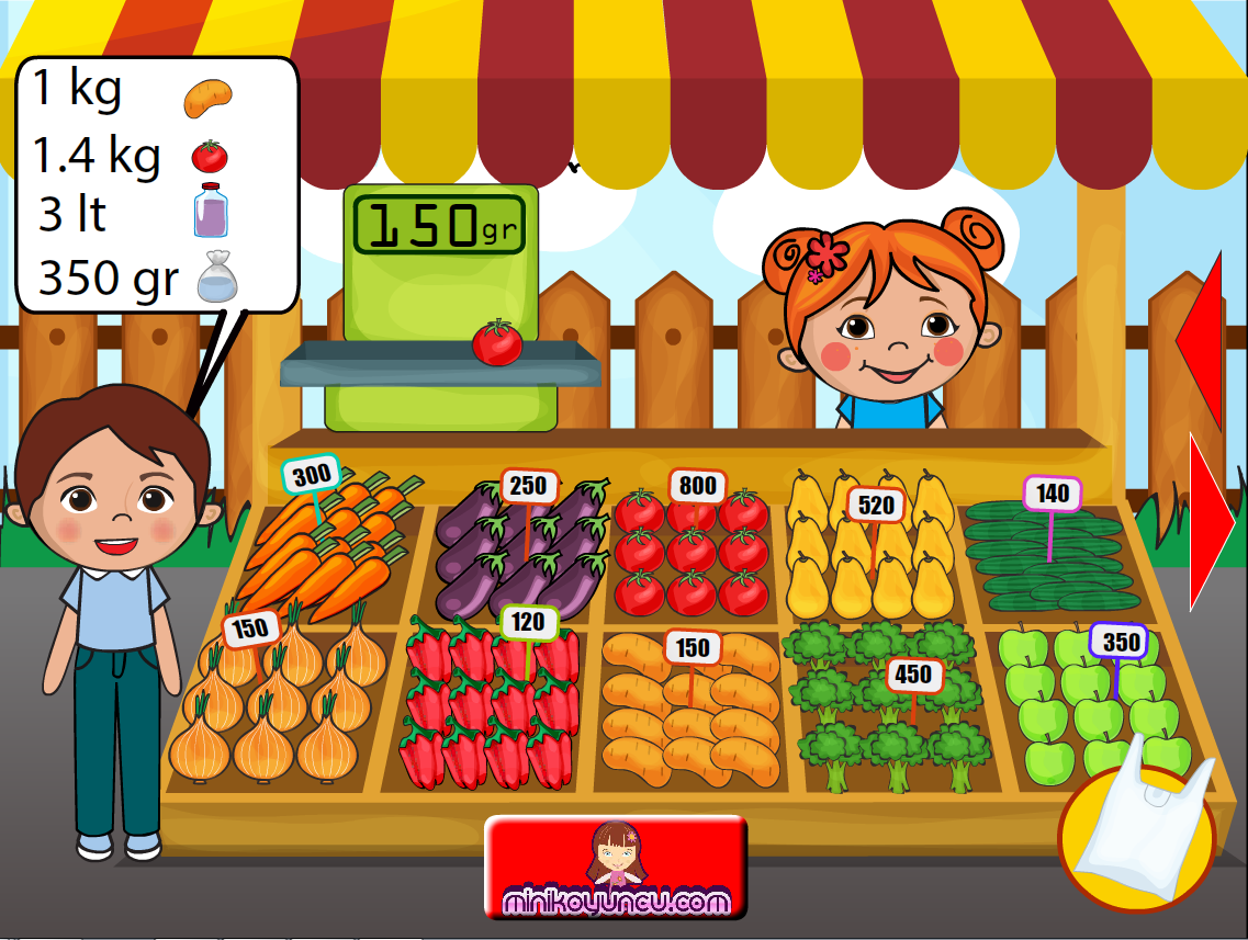 Lili Bazaar And Cashier- screenshot