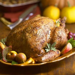 Roast Turkey with Orange-Herb Butter