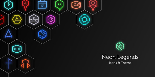 Neon Icons Wallpapers