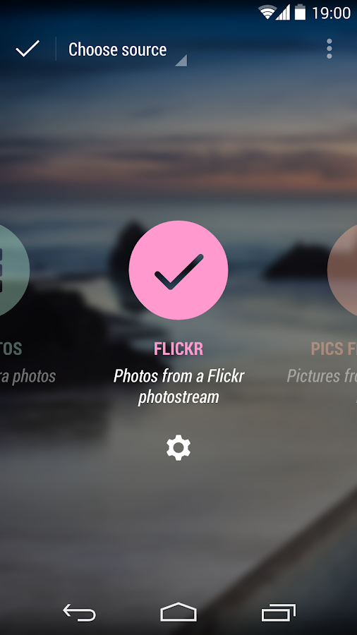Flickr Photostreams for Muzei - screenshot