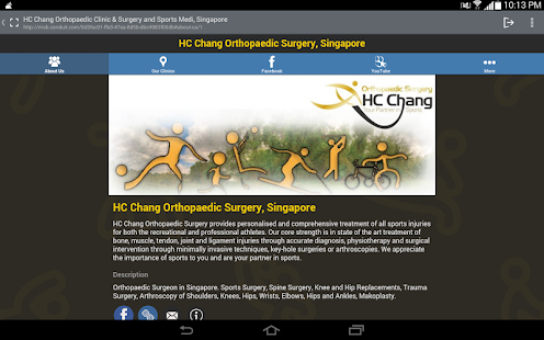 HC Chang Orthopaedic Surgery- screenshot thumbnail
