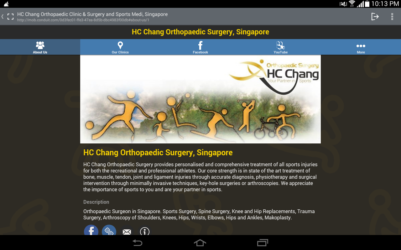 HC Chang Orthopaedic Surgery- screenshot