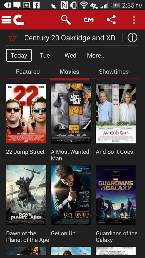 Cinemark Theatres Android Apps On Google Play