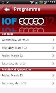 IOF‐Ecceo 2012 Congress Guide- screenshot thumbnail