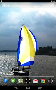 Sailboats Live Wallpaper- screenshot thumbnail
