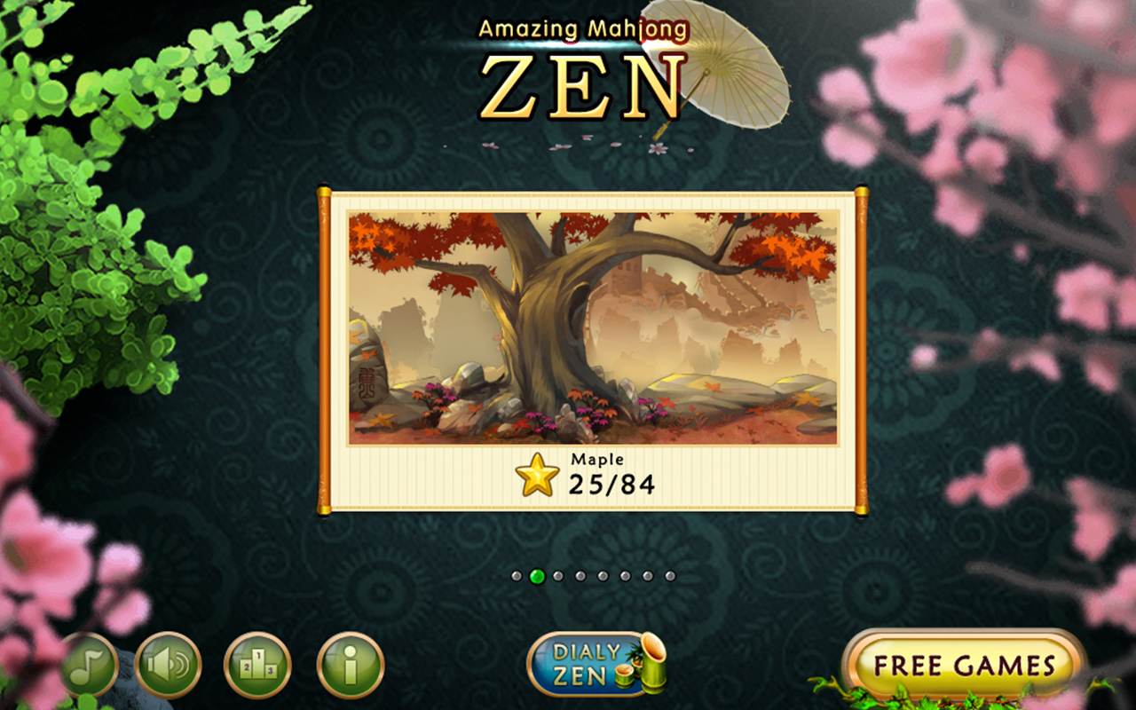 Amazing Mahjong: Zen - screenshot