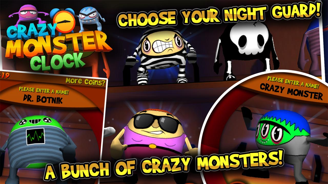 Crazy Monster Clock - screenshot
