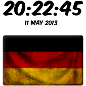 Germany Digital Clock
