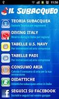 Screenshot of Il Subacqueo Free