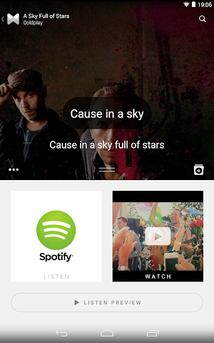 android Musixmatch Songtexte Screenshot 14