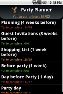 Party Planner - screenshot thumbnail