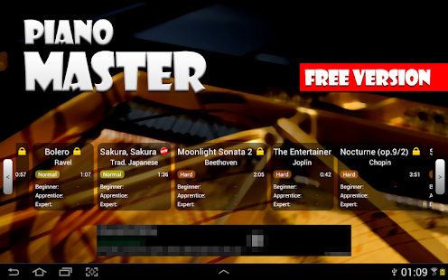 Piano Master FREE - screenshot thumbnail