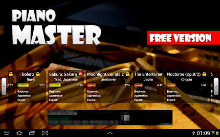 Piano Master FREE 2.23 screenshot 266378
