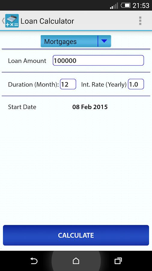 Auto Finance Calculator  Interest