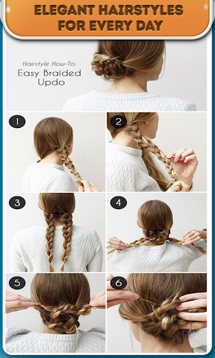 Instructions hairstyles