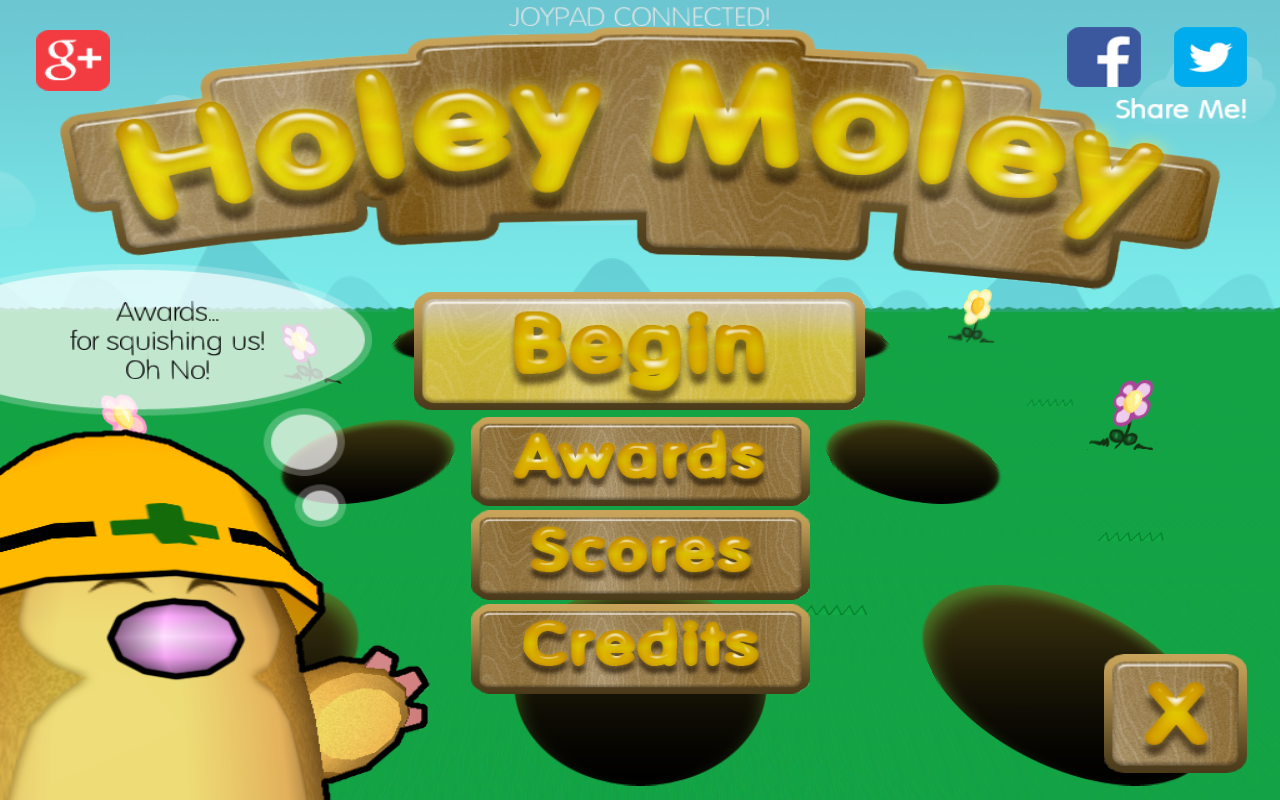 Holey Moley - screenshot
