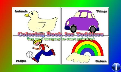 Coloring Book for Toddlers LT- screenshot thumbnail