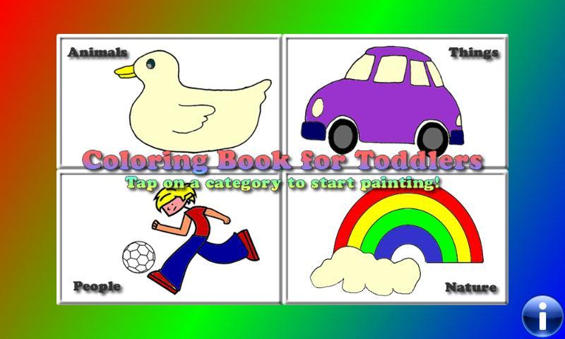 Coloring Book for Toddlers LT- screenshot