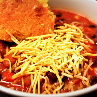 The Best Vegetarian Chili EVER!.