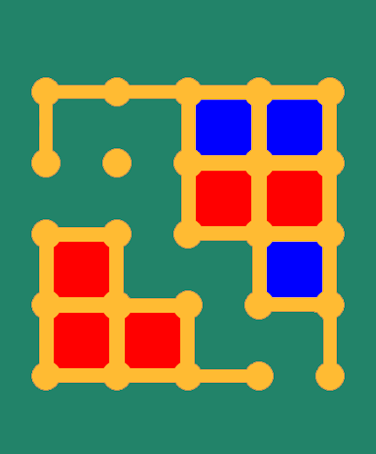 Box Dots Lines Logical Game