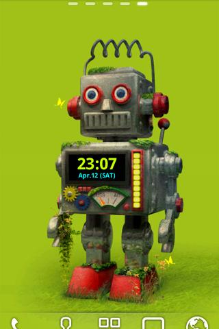 ROBOT ライブ壁紙 トライアル版