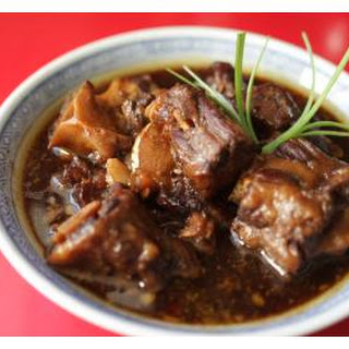Five-Spice Oxtail Stew.