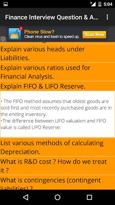 Finance Interview Question Ans - screenshot