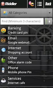 Password Safe - Riddler- screenshot thumbnail