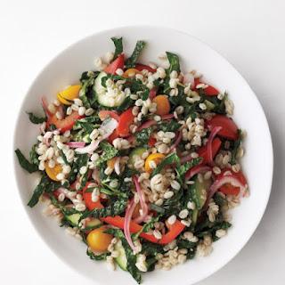 Vegetable-Barley Salad.