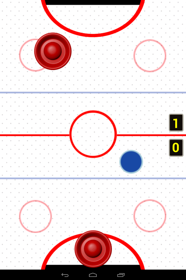 Air Hockey Championship 2 Free- screenshot