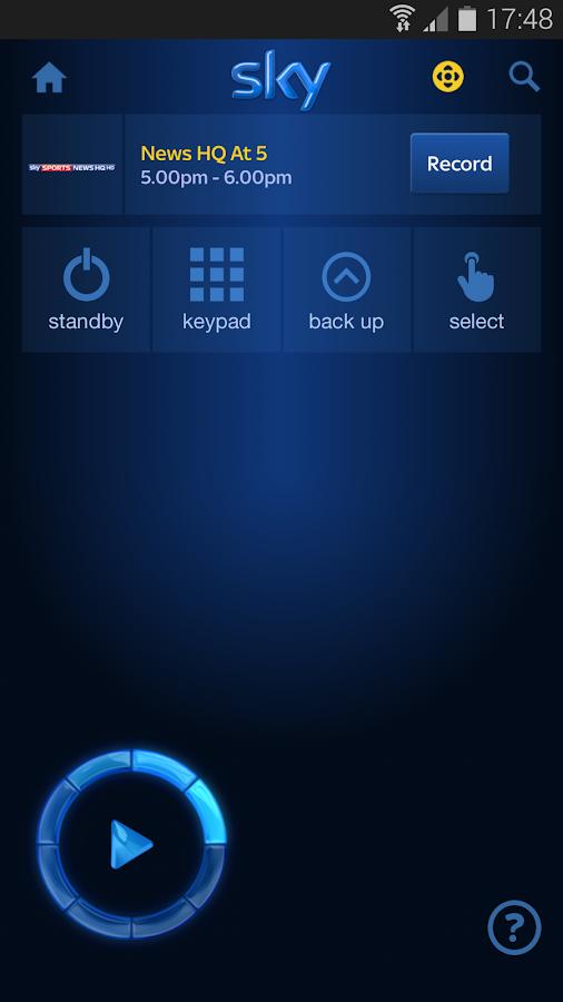 Sky+ - screenshot