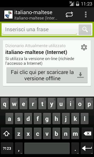 Italian-Maltese Dictionary