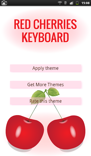 Red Cherries Keyboard