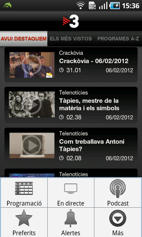 TV3 - screenshot