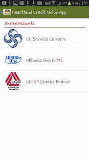 Heartland Credit Union App- screenshot thumbnail