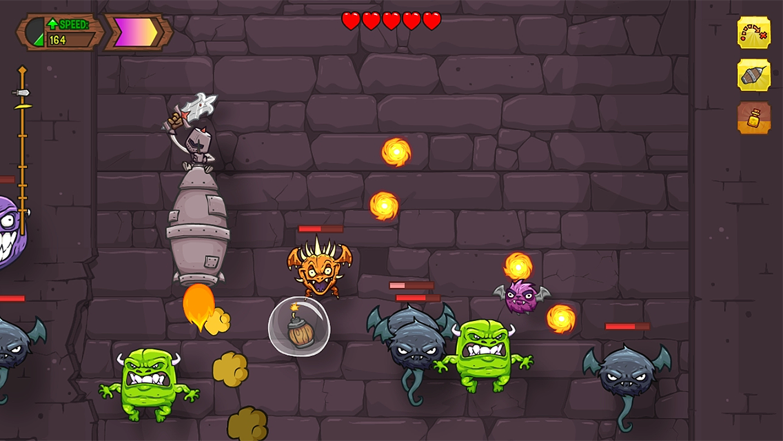 Knightmare Tower - screenshot