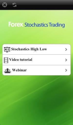 Forex Stochastics Trading